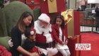 Noel Hediyesi Olarak Babasına Kavuşan Küçük Kız