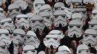 CSKA Sofia Taraftarlarından Çılgın Star Wars Koreografisi