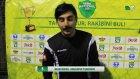 Hasan Özkan - Akbalspor Yıldızgücü Maç Sonu Röportaj