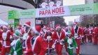 Madrid'de 10 bin Noel Baba koştu
