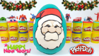 Oyun Hamurundan Dev Noel Baba Yeni Yıl Sürpriz Yumurtası Minyonlar Sevimli Otobüs Tayo MLP