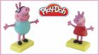 Play-Doh Oyun Hmurundan Peppa Pig Yapımı