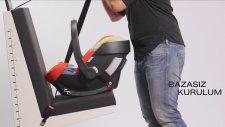 Alman Cybex Aton Q Ana Kucağı: En İyi Güvenli Bebek Çocuk Oto Koltuğu nasıl takılır Isofix Montajı
