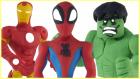 Play Doh Oyun Hamurundan Örümcek Adam Yeşil Dev Hulk ve Demir Adam Nasıl Yapılır?