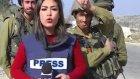 İsrail Askerleri Filistinli Bayan Muhabiri Taciz Etti