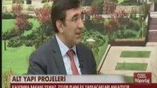 Kalkınma Bakanı Cevdet YILMAZ HABERTÜRK TV Ankara Temsilcisi Veyis ATEŞ'e konuk oldu