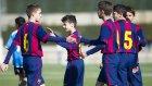 Barçalı gençlerden enfes goller