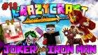 İnanılmaz Demir Adam! (İron Man) ve Olağanüstü Joker! - Minecraft Crazy Craft : Bölüm 18