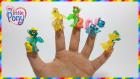 My Little Pony MLP Parmak Ailesi Çocuk Şarkısı | İngilizce Çocuk Şarkıları