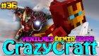 Yenilmez Demir Adam! (Iron Man) | Türkçe Minecraft Crazy Craft | Bölüm 36