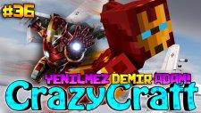 Yenilmez Demir Adam! (Iron Man)   Türkçe Minecraft Crazy Craft   Bölüm 36