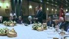 Cumhurbaşkanı Erdoğan, Sancar onuruna akşam yemeği verdi