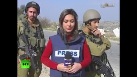 İsrailli Askerlerin Filistinli Muhabiri Trollemesi