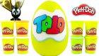 ToTo DEV Sürpriz Yumurta Açma Oyun Hamuru Oyuncak Abi