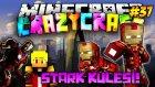 Ürkütücü STARK KULESİ! (Iron Man) | Türkçe Minecraft Crazy Craft | Bölüm 37