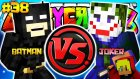 Batman vs Joker! (Kara Şovalye vs Palyaço) | Minecraft Crazy Craft | Bölüm 38
