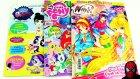 Winx My Little Pony Minişler LPS Oyuncak Hediyeli Dergi Açımı