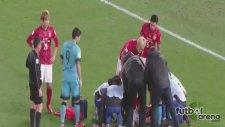 Barcelona'nın maçında feci sakatlık
