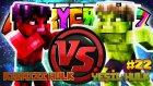 Yeşil HULK vs Kırmızı HULK! (İnanılmaz Savaş!!) - Minecraft Crazy Craft : Bölüm 22