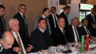 Bursasporlu futbolcular moral yemeğinde buluştu