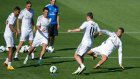 Cristiano Ronaldo antrenmanda coştu