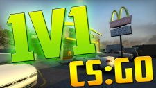 McDonalds'da Çatışıyoruz !! - CSGO 1v1