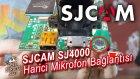 SJCAM SJ4000 Harici Mikrofon Bağlantısı / mikrofon değiştirme / mikrofon yenileme -