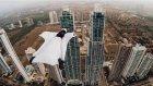Adrenalin Dolu Wingsuit Yapan Kadının Kamerasından Panama Şehri