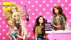 Barbie Oyuncak Bebekler Kuafor Salonunda - Evcilik TV Evcilik Oyunları