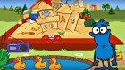 Edi Blue oyun parkında - Eğitici çizgi film - Bulmaca oyunu