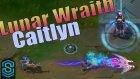 Lunar Wraith Caitlyn Skin Spotlight - Pre-Release - League of Legends