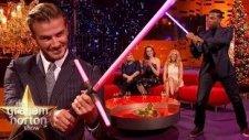 David Beckham Işın Kılıcı Kuşandı!