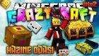 Gizli Hazine Odası! | Minecraft Crazy Craft | Bölüm 42 w/Ahmet Aga