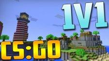 Minecraft Adasında Savaşıyoruz ! - CSGO 1v1
