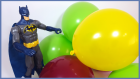 BATMAN Sürpriz Balonları Patlatıyor Thomas ve Arkadaşları Sünger Bob Patrick MLP Mickey Oyuncakları