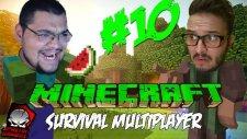 Minecraft (Türkçe) Survival Multiplayer : Bölüm 10 - Yapı Kapışmaları Başladı! (/w Oyunsal TV)