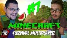 Minecraft (Türkçe) Survival Multiplayer : Bölüm 7 - Muhteşem Yapıt!  (/w Oyunsal Engelli)