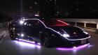 Neon Kaplı Modifiye Lamborghini