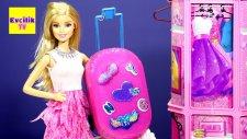 Barbie Oyuncak Bebekleri için Valiz Yapımı | EvcilikTV