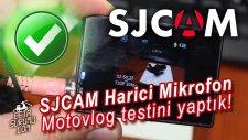 SJCAM SJ4000 Harici mikrofon bağlantısının motovlog testini yaptık. (Sonuç tahminimizden daha iyi)