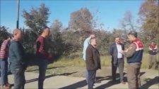 Jandarma Komutanı ile Giresun Bulancak Belediye Başkanının Tartışması