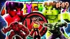 ATEŞLİ KIRMIZI HULK! vs YEŞİL HULK! - Türkçe Minecraft Crazy Craft : #49
