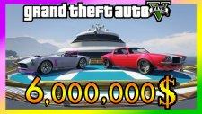 GTA 5 // 6.000.000$ Yat ve Yeni Araç