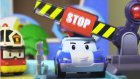 Robocar Poli ile trafik lambalarını öğrenelim.
