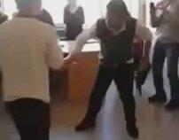 Kavga Ederken Kolu Kırılan Liseli