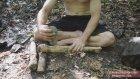 Doğa Yaşamanın Şifrelerini Çözen Adamdan Sepet ve Balta Yapımı