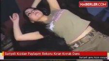 Suriyeli Kızdan Paylaşım Rekoru Kıran Kıvrak Dans