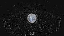 58 Yılda Dünya'nın Yörüngesinde Oluşan Çöplük