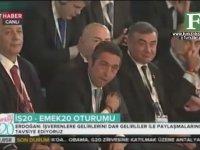 Ali Koç'un Tayyip Erdoğan'a Gülmesi