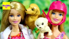 Barbie ve Kahraman Köpekler Veterinerde   EvcilikTV Barbie Oyuncakları